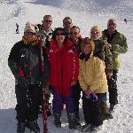 skiing party Peterborough