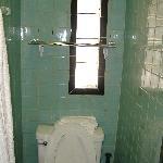 Nice big bathroom. Yeah right.