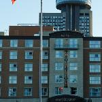 Hotel vu de l'extérieur