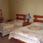 habitaciones limpias y comodas