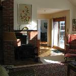 A glimpse of the formal livingroom...