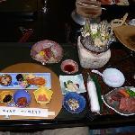 wonderful seafood dinner