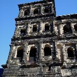 Close-up of Porta Nigra