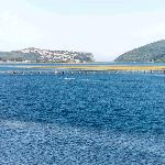 Knysna Heads and lagoon