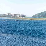 Knysna Heads and lagoon