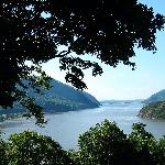 View of Hudson River at West Point