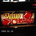 $1 Wild Cherry Slot Machine Belly Glass