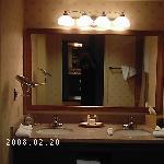 Pechanga Hotel Bathroom on the 8th Floor