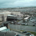 Looking out of my 8th Floor window at Pechanga Resort and Casino and the Temecula Valley