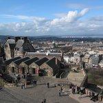 Edinburgh - Edinburgh Castle - Views To Edinburgh