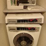 Microwave, Hot Pot, Washer & Dryer