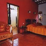 bedroom of Khombu house