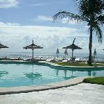 foto desde piscina