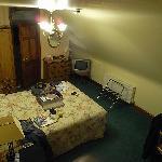 Bedroom, spacious sylish and skylights