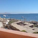 Von hier konnte man sogar sehen wer sich am Strand aufhält...