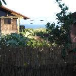 view from door of room