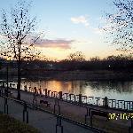 Riverwalk at Dusk