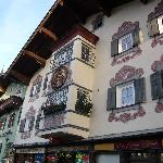 Beatiful buildings in the town
