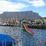 Nearby Cape Town harbour