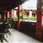 Hotel porch / walkway
