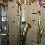 saxophones by Adolphe Sax