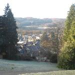 Pitlochry view from window