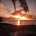 Sunset from Jolly Beach