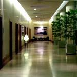 Corridor to go to the meetings rooms