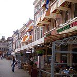 Some shops and restaurants in Delft