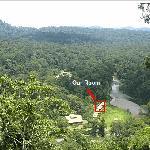 View of Resort from Overlook