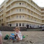 chas on medano beach