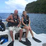 Our first Scuba Dive