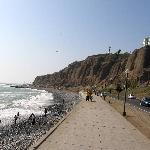 Paragliding over the Pacific in Lima