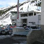 The lift station from hotel door