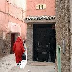 L'entrée du Miski, dans une ruelle de la Medina.