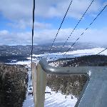 view from the Chile Express lift