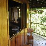 Uppder deck of Casa Luna