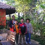 Khun Lin and my son