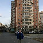Me outside Olympic Hotel