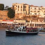 Sunset cruise with MS Irini