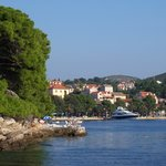 Cavtat seen from boat