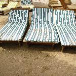 i letini in spiaggia
