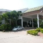 Areca Lodge from outside