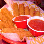 Cheese Sticks are great and there are a lot!