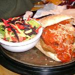 Chicken Parmagiana Burger