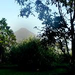 Arenal Volcano from my porch