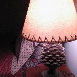 Fir cone lampshades