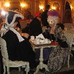 Cafe Florian. Plaza San Marcos.Un capuchino 13€ jeje