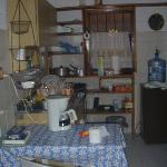 The bungalow at QE: the kitchenette