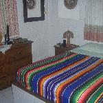 The bungalow at QE: one of the bedrooms